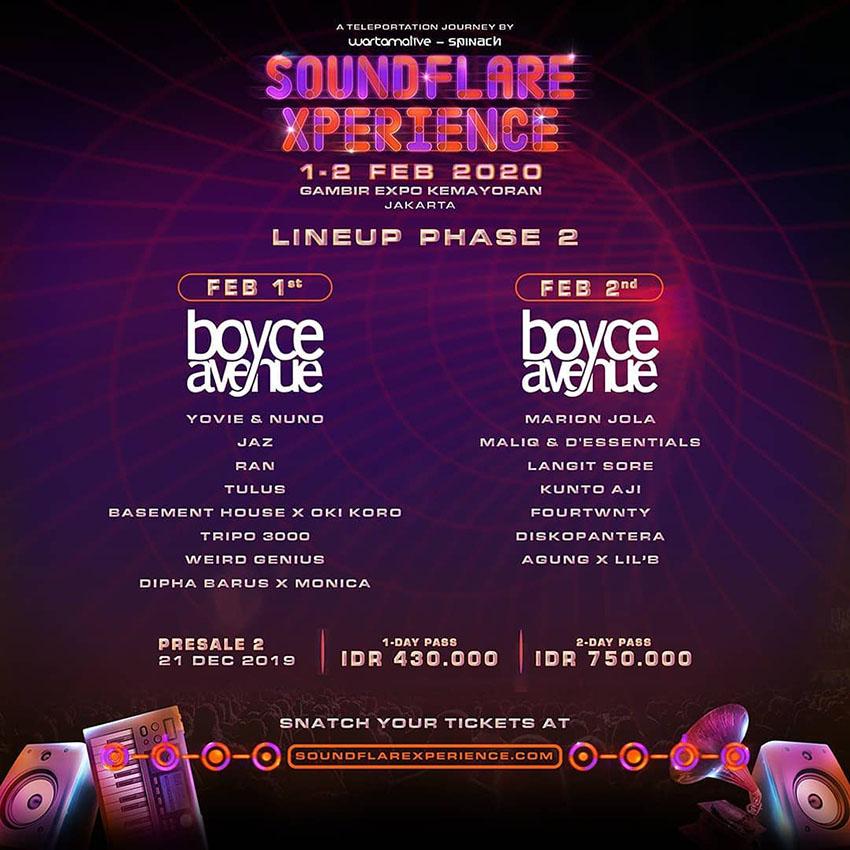 Daftar Konser dan Festival Musik di Indonesia 2020
